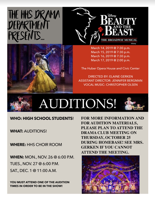 Informational Meeting/Audition Info!